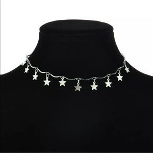Jewelry - FLASHY SILVER⭐️STARS&SPACERS⭐️CHOKER